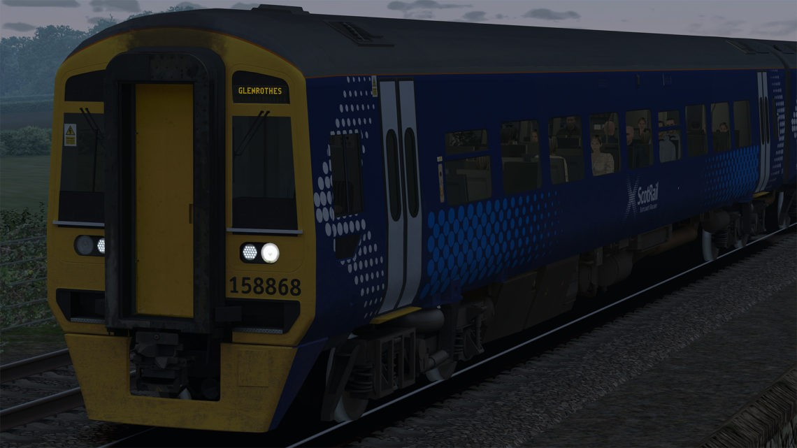 Class 158 Scotrail Vultron Destinations