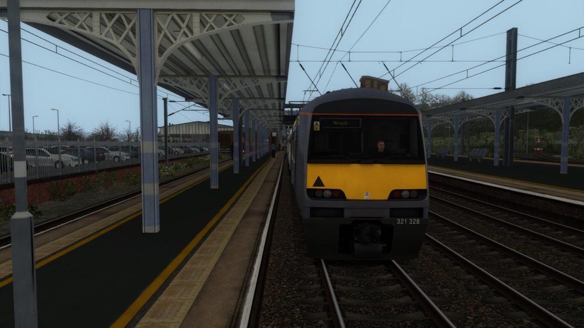 1Y96 09:12 Ipswich to Norwich