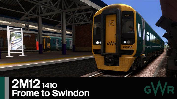 2M12 1410 Frome to Swindon