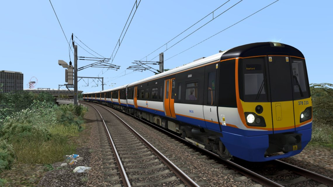 London Overground Class 378 Aventra Livery