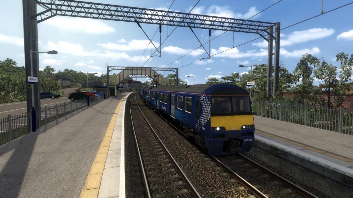Suburban Glasgow – AP Track Ballast Texture Patch (for Suburban Glasgow V6 & WCML North & Scotland)
