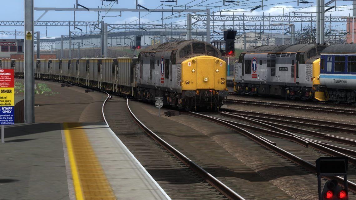 MLH Penmaenmawr to Crewe Ballast