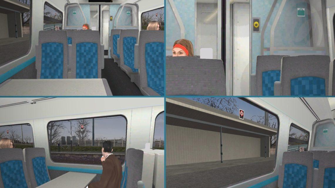 Class 158 Arriva Trains Wales Passenger Interior