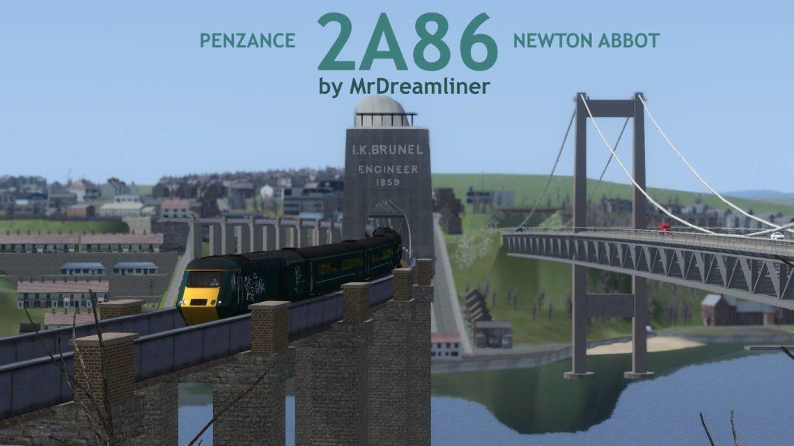 2A86 1141 Penzance to Newton Abbot