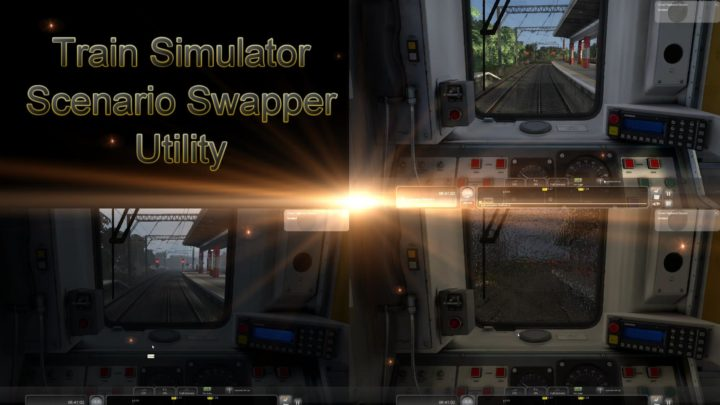 Train Simulator Scenario Swapper Utility