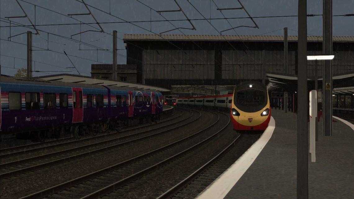 9M60 – 16:52 Edinburgh Waverley to London Euston
