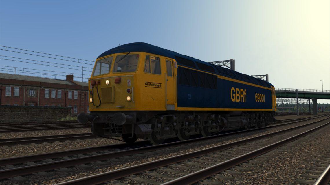 GBRf Class 69 Diesel Locomotive (EMD-710 Prototype)