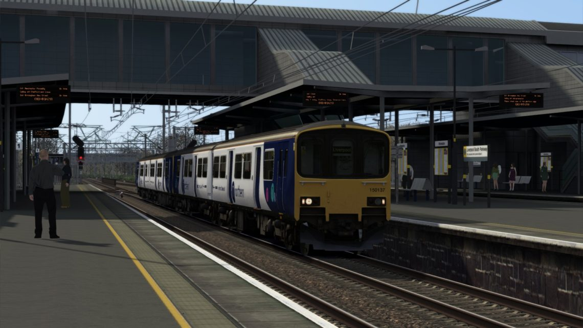 1F92 0750 Manchester Airport to Liverpool Lime Street