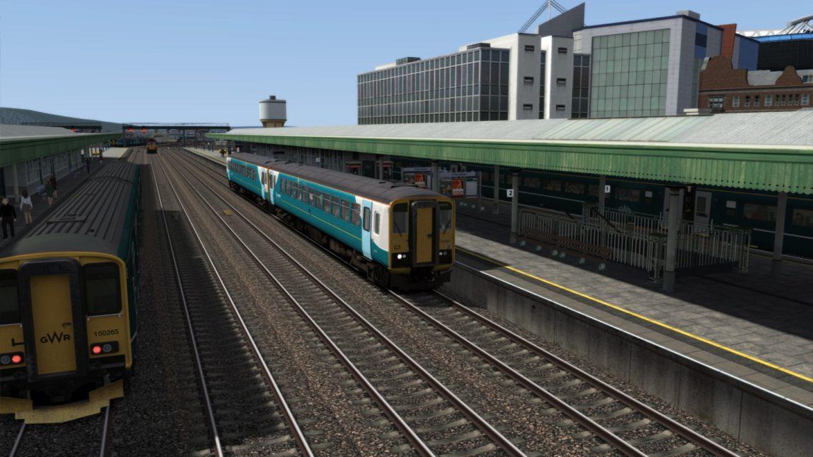 2B38 1245 Llanelli to Cardiff Central
