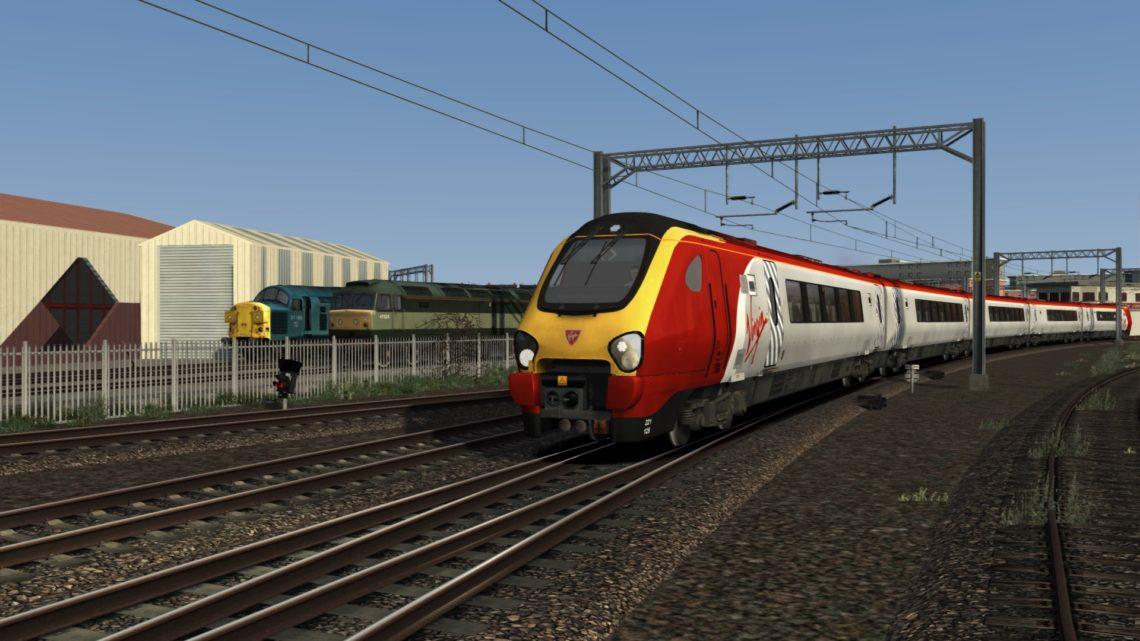 1D90 1610 London Euston to Bangor & 1G00 2020 Bangor to Birmingham New Street
