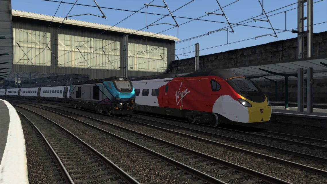 1M07 0630 Glasgow Central to London Euston