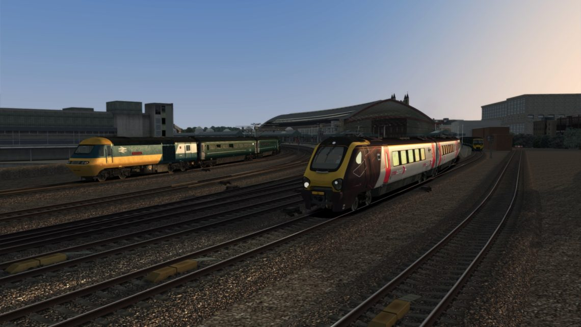 1V65 1705 Manchester Piccadilly to Cardiff Central & 5C00 2121 Cardiff Central to Bristol Barton Hill Depot