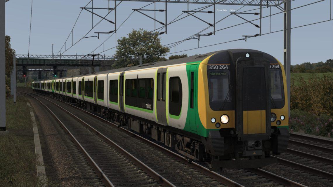 2M13 East Croydon to Milton Keynes Central 2008