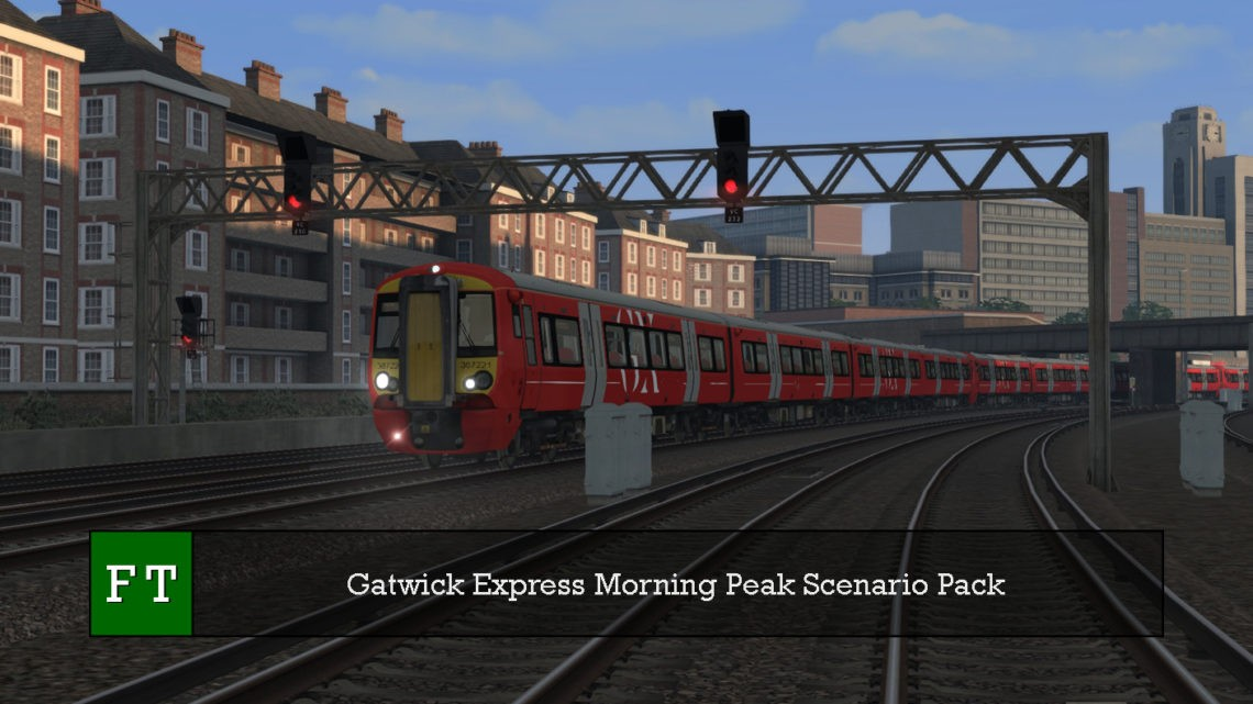 Gatwick Express Morning Peak Scenario Pack Subscription Only
