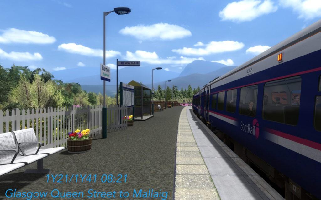1Y21/1Y41 – Glasgow to Mallaig…the full journey
