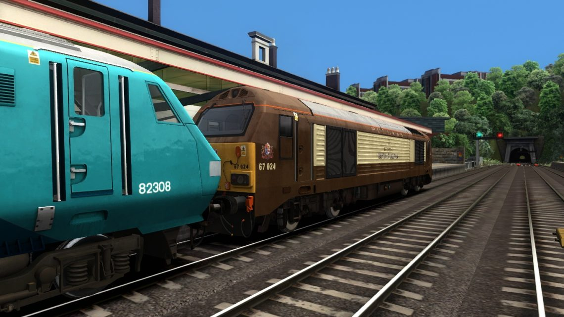1H89 1307 Holyhead – Manchester Piccadilly – Class 67!