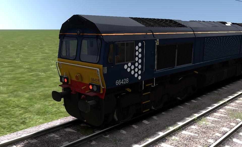 Class 66 Scotrail Reskin