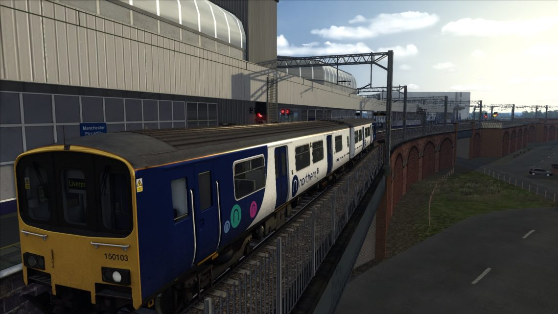 1F90 Northern Service Manchester Airport to Liverpool Lime Street