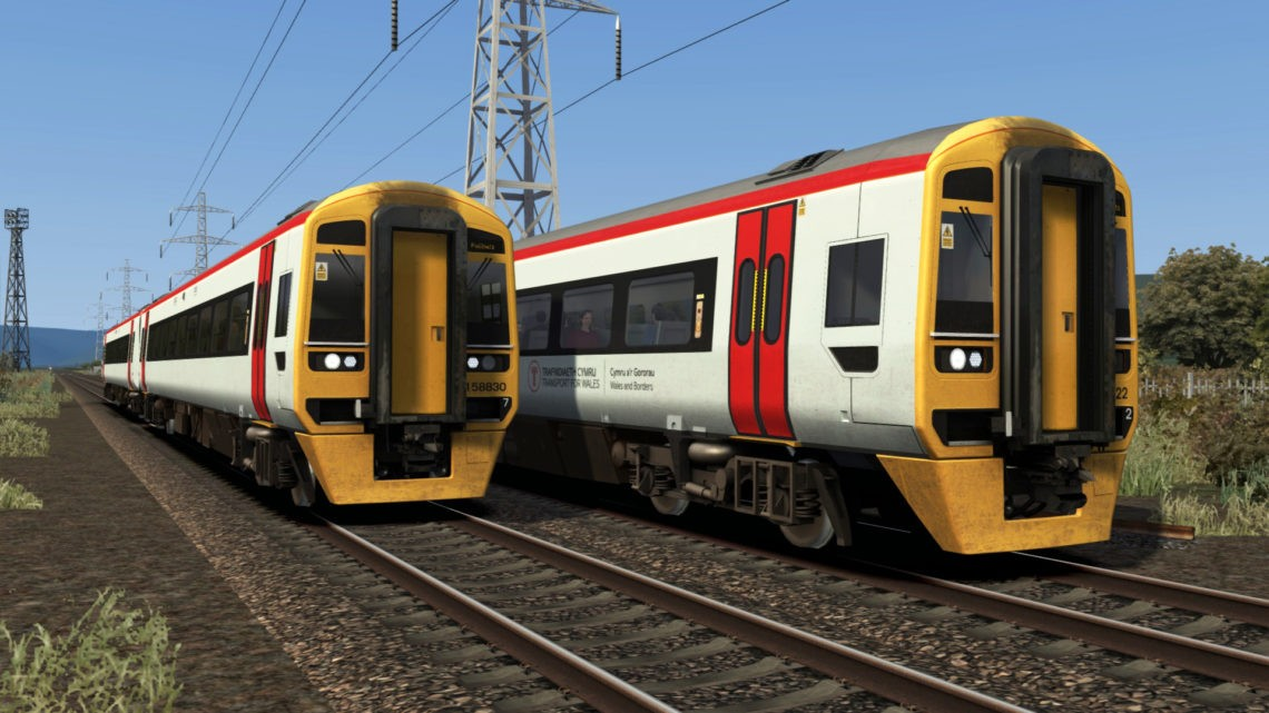 Transport for Wales Class 158