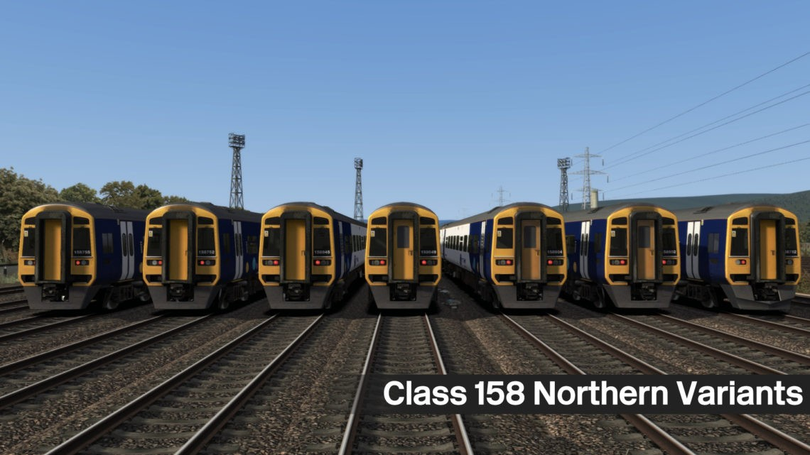 Class 158 – Northern Variants