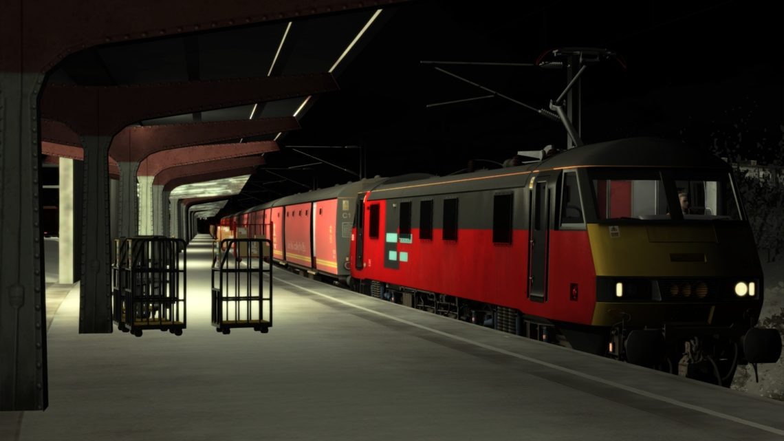 6M03 0518 Shieldmuir RMT – Warrington (Rail Express Systems)