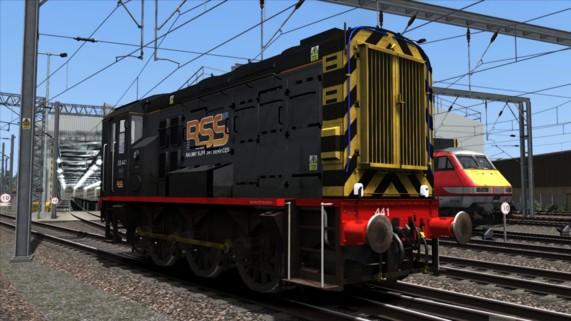 Class 08 RSS Livery