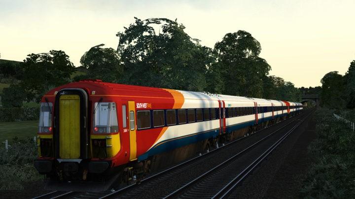 Class 442: South West Trains Post C6