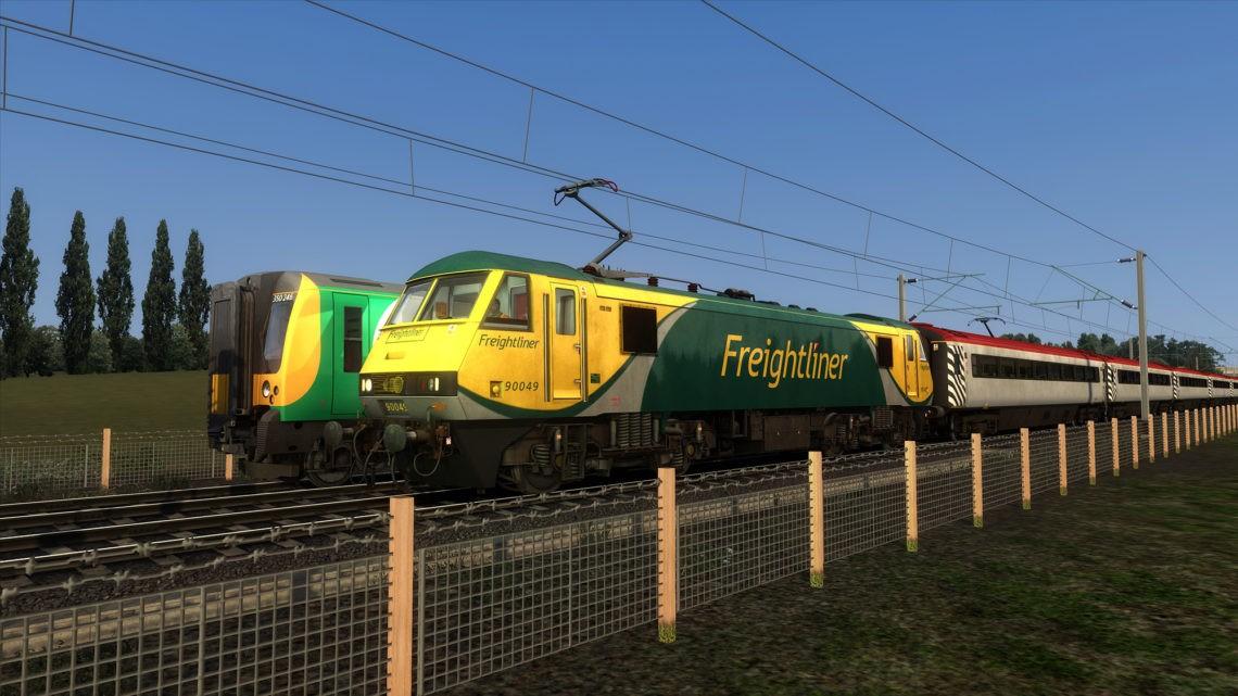 1K39: 1843 London Euston to Crewe (2012)