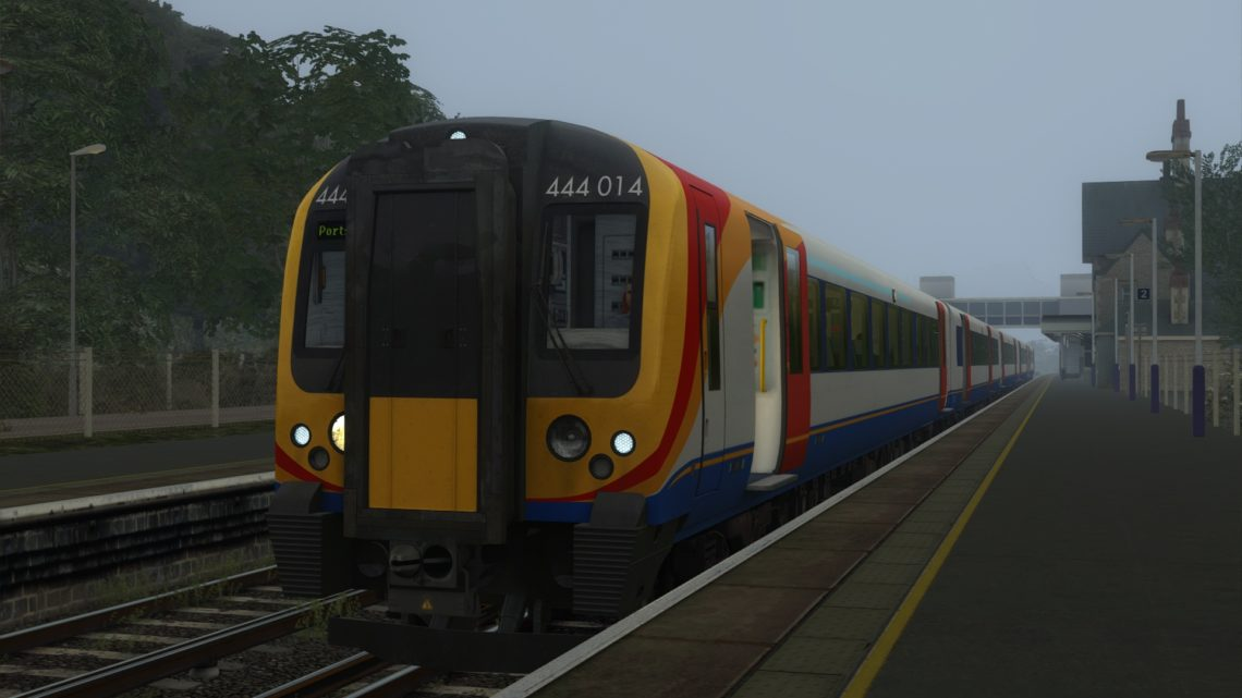 [MBS] 2P05 0500 London Waterloo to Portsmouth Harbour