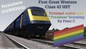 "FGW Class 43 ""Trainbow"" Reskin"