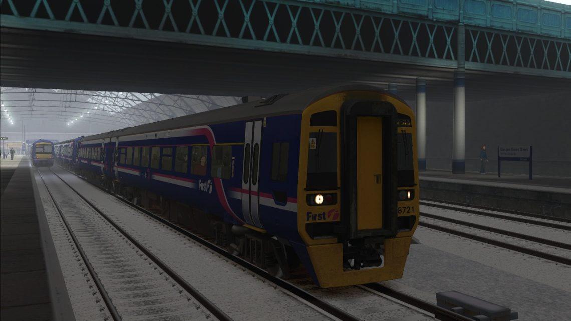 1R88 – 16:15 Glasgow Queen Street to Edinburgh Waverley