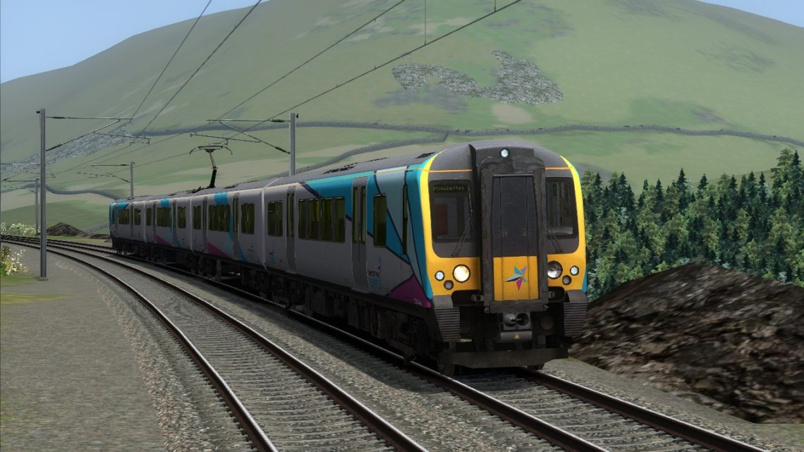 1M95 – 10:12 Edinburgh Waverley to Manchester Airport