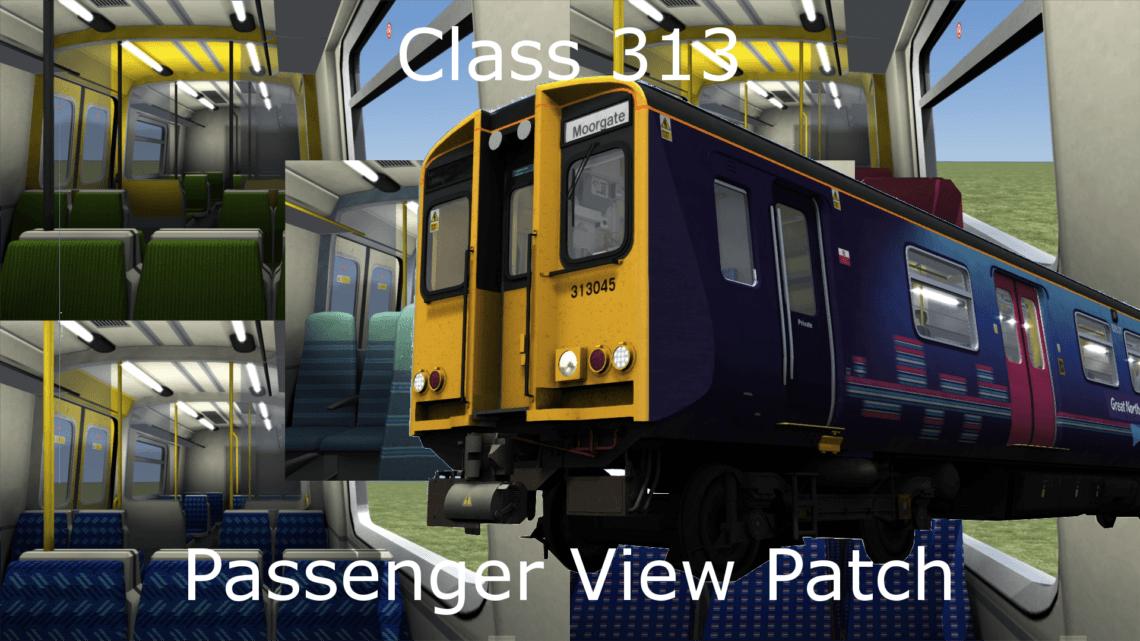 Class 313 Passenger View Patch