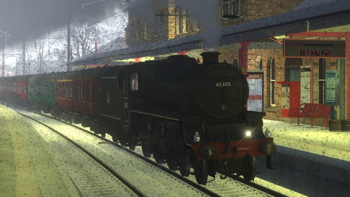 The Winter Cumbrian Mountain Express – 45305