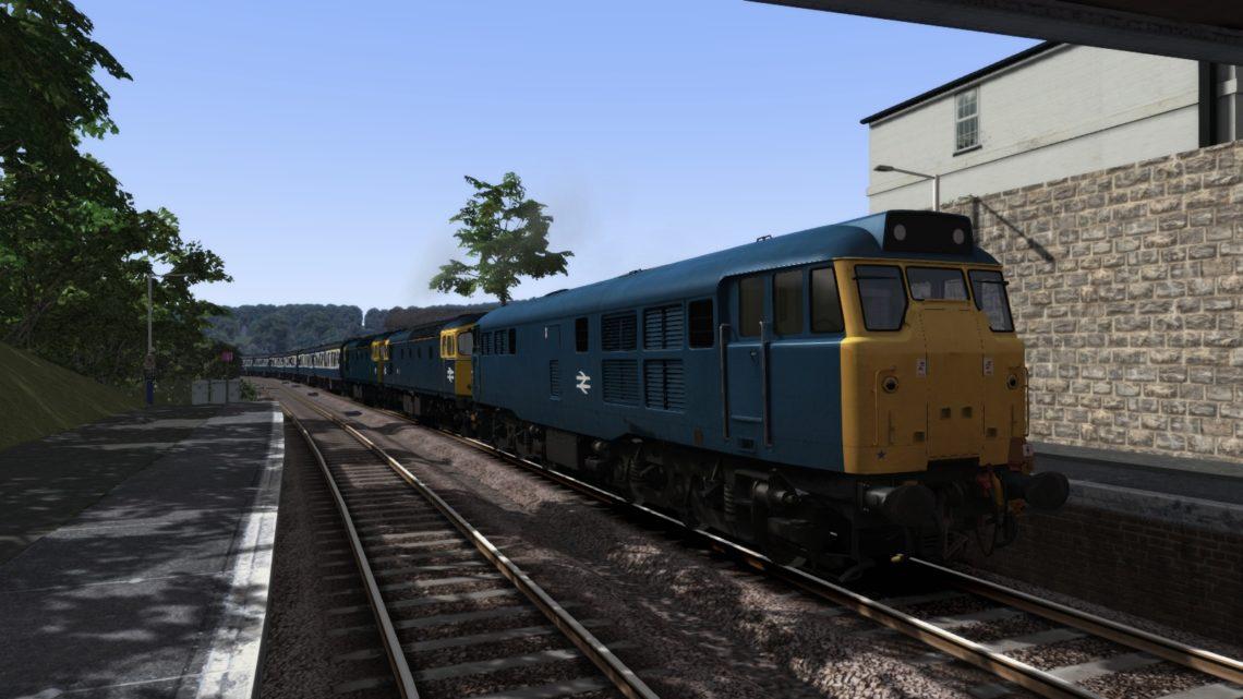 (BR 80s) 1O86 10:50 Penzance to Brighton – 28th September 1985 – 31439/33054/33118