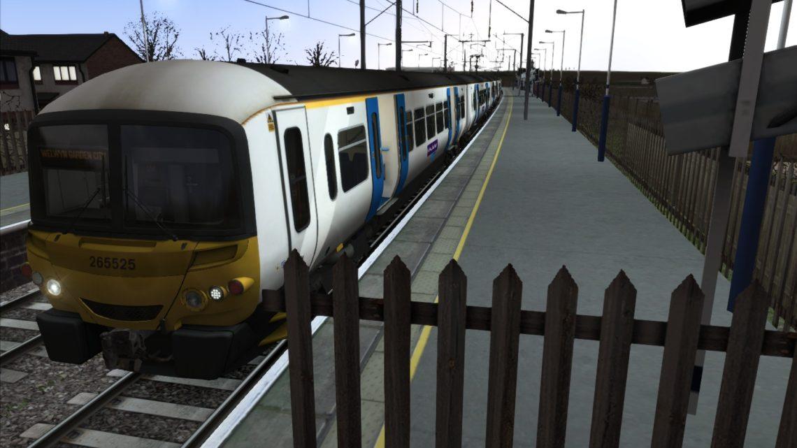 1R50 1754 London Kings Cross to Baldock