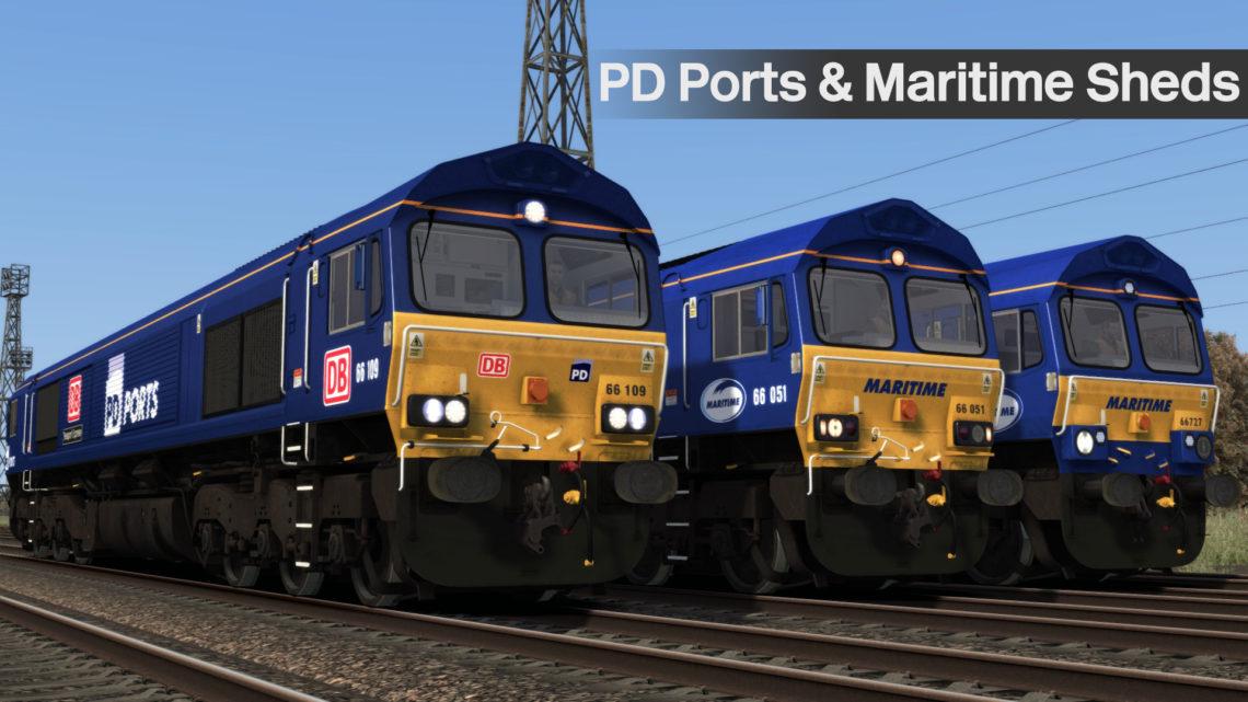 Maritime & PD Ports Class 66s