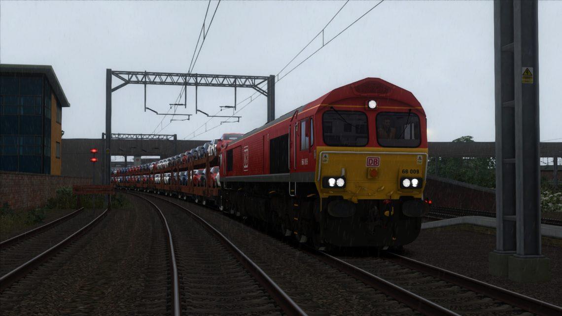 687A 13:58 Dagenham Dock Reception To Mossend Down Yard