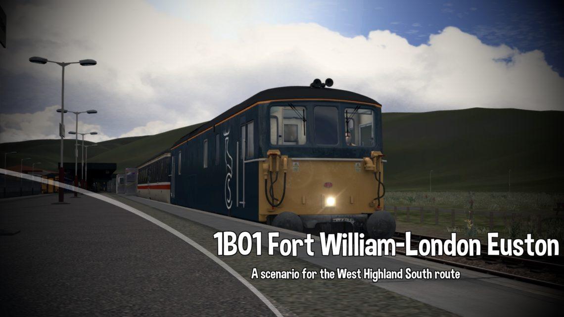 1B01 1950 Fort William – London Euston