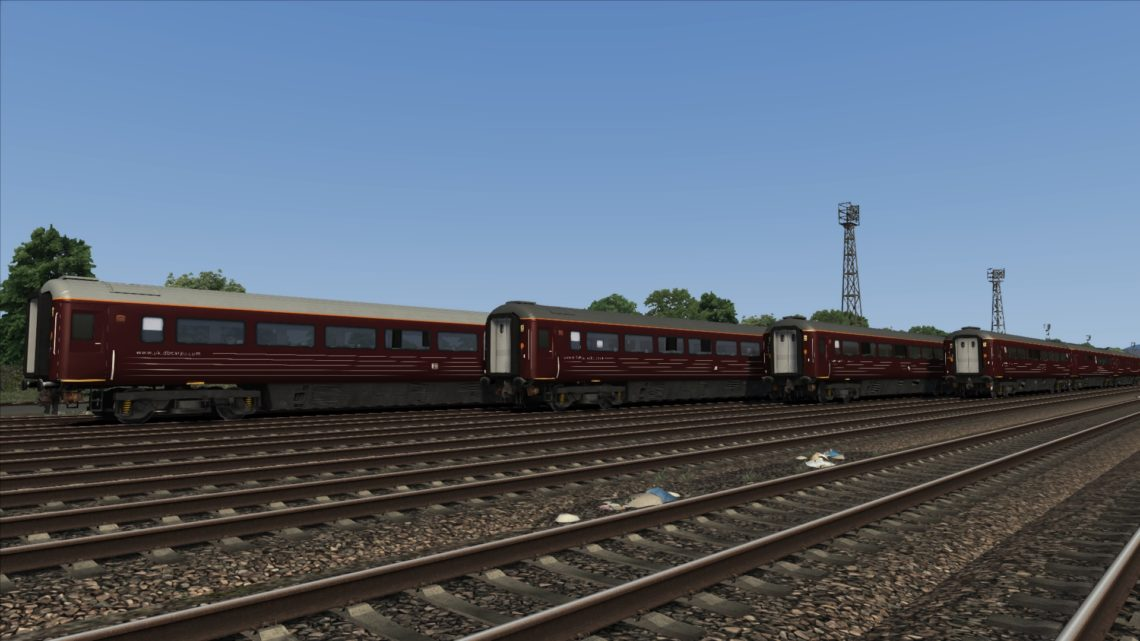 EWS/DBS/DBC Company Train Mk3A