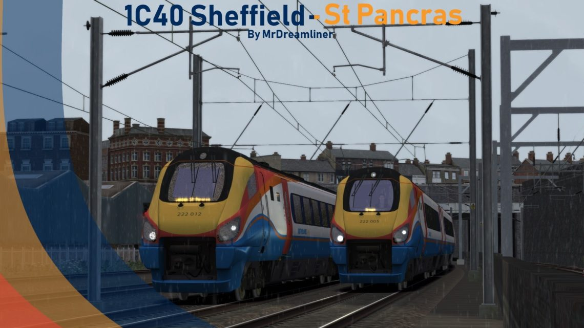 1C40 1129 Sheffield to St Pancras International