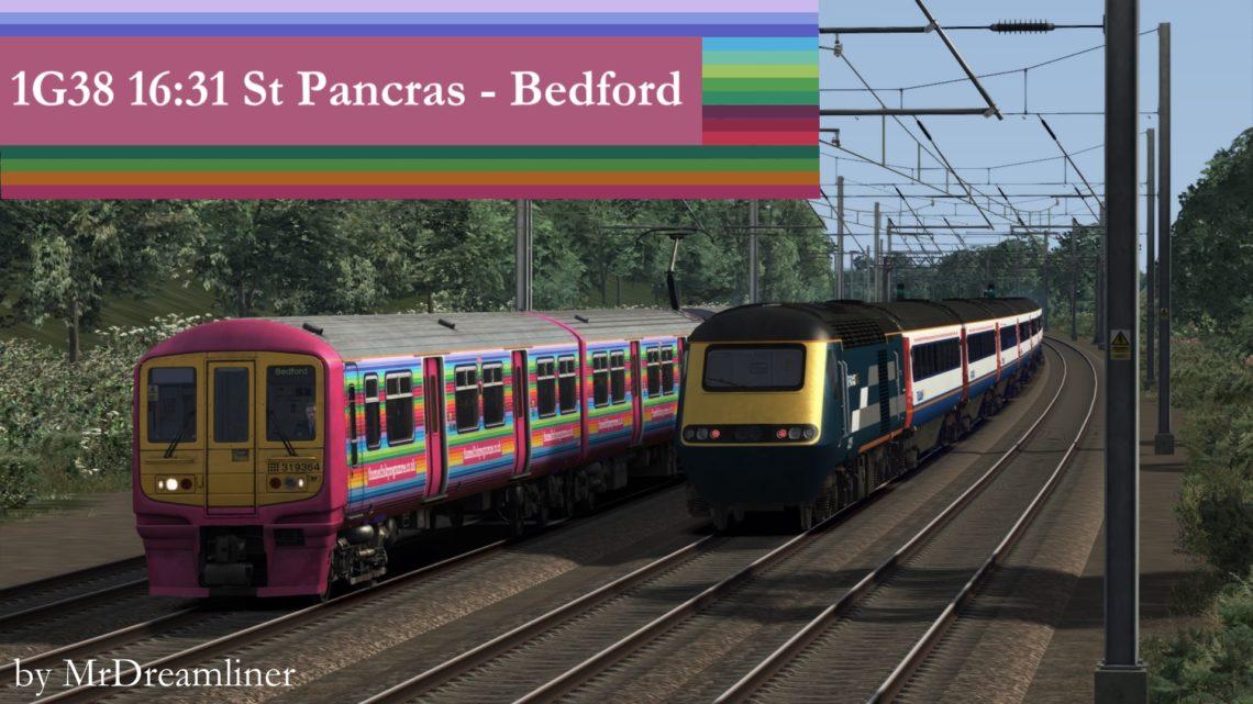 1G38 1631 St Pancras International to Bedford