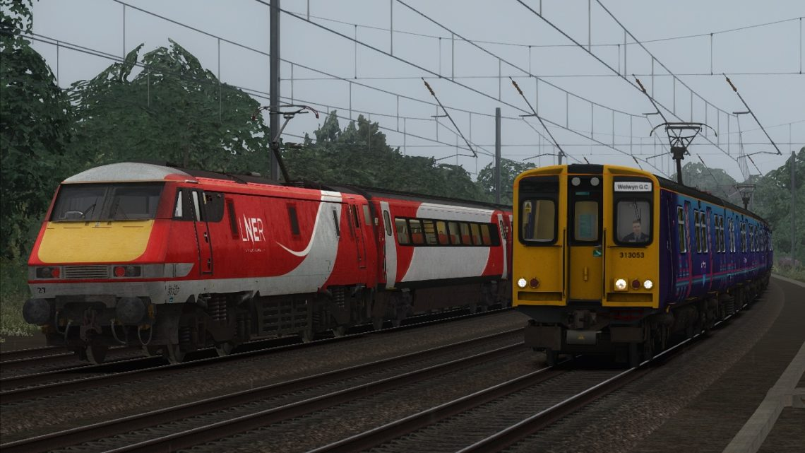 2V39 – 09:20 Moorgate to Welwyn Garden City *SUBSCRIPTION ONLY*