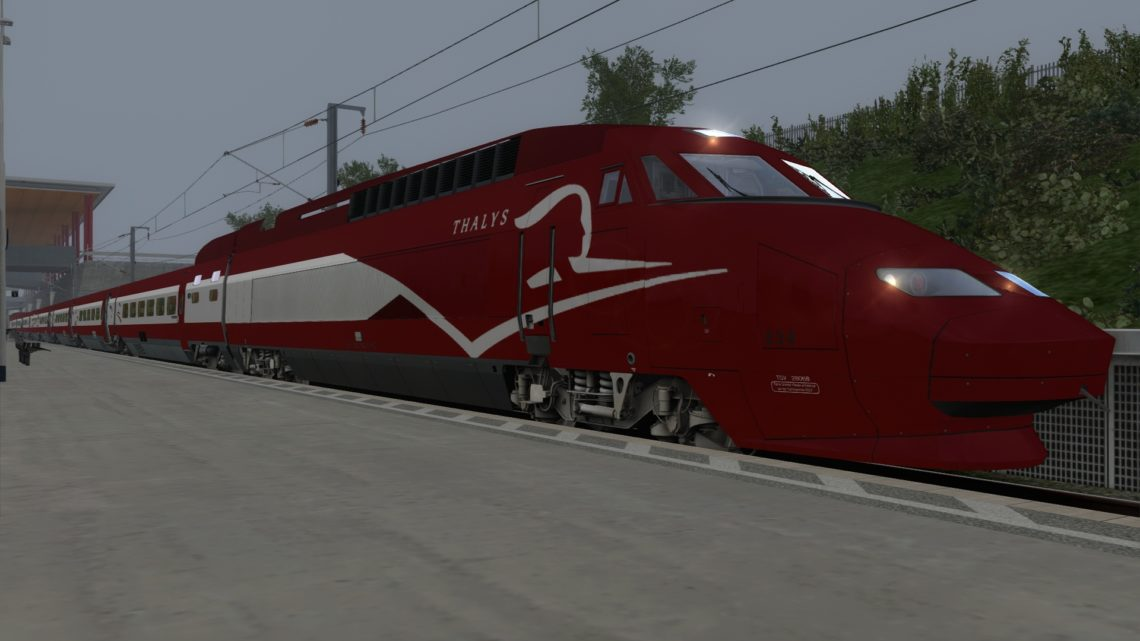 Thalys 9926 0715 Amsterdam Centraal to Gare de Marseille-Saint-Charles