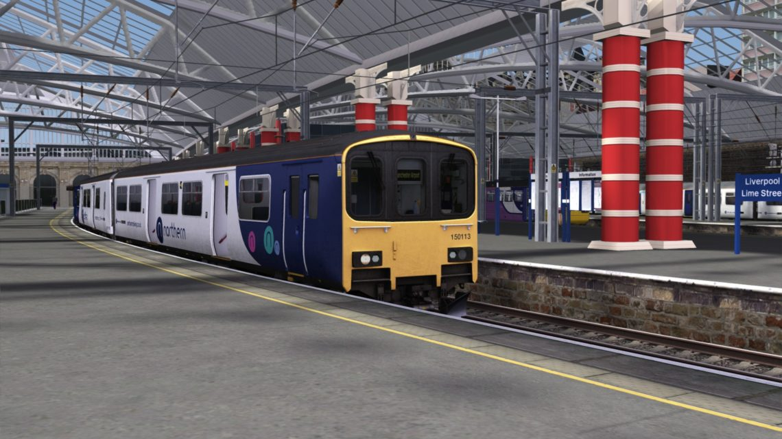 1H40 1516 Liverpool Lime Street to Manchester Airport