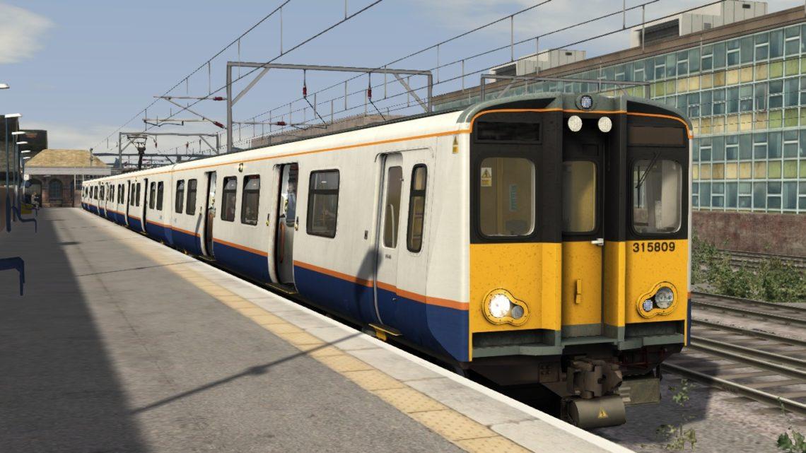 2V12 08:11 Romford to Upminster