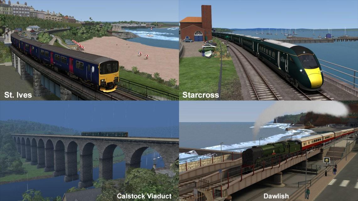 Railways of Devon and Cornwall Scenario Pack 2a