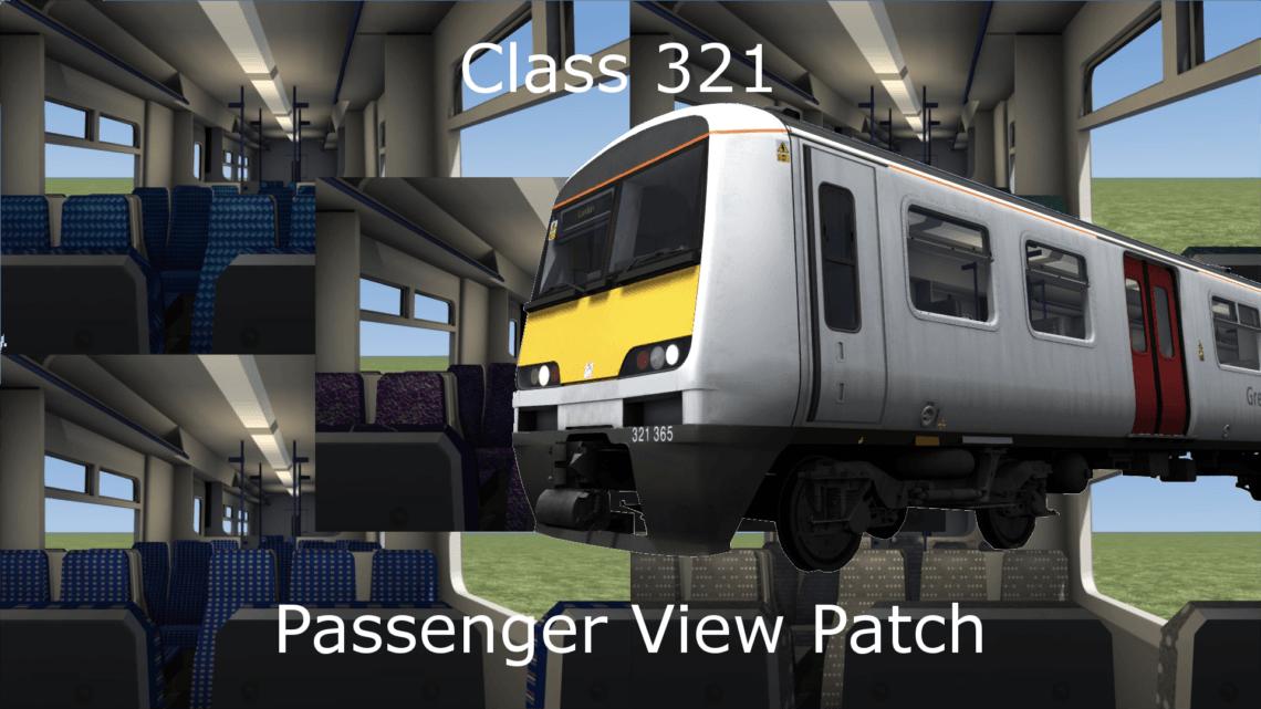 Class 321 Passenger View Patch