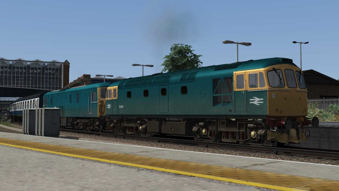 (BR 80s) 15:00 '90' Weymouth Quay to London Waterloo – 26th August 1985