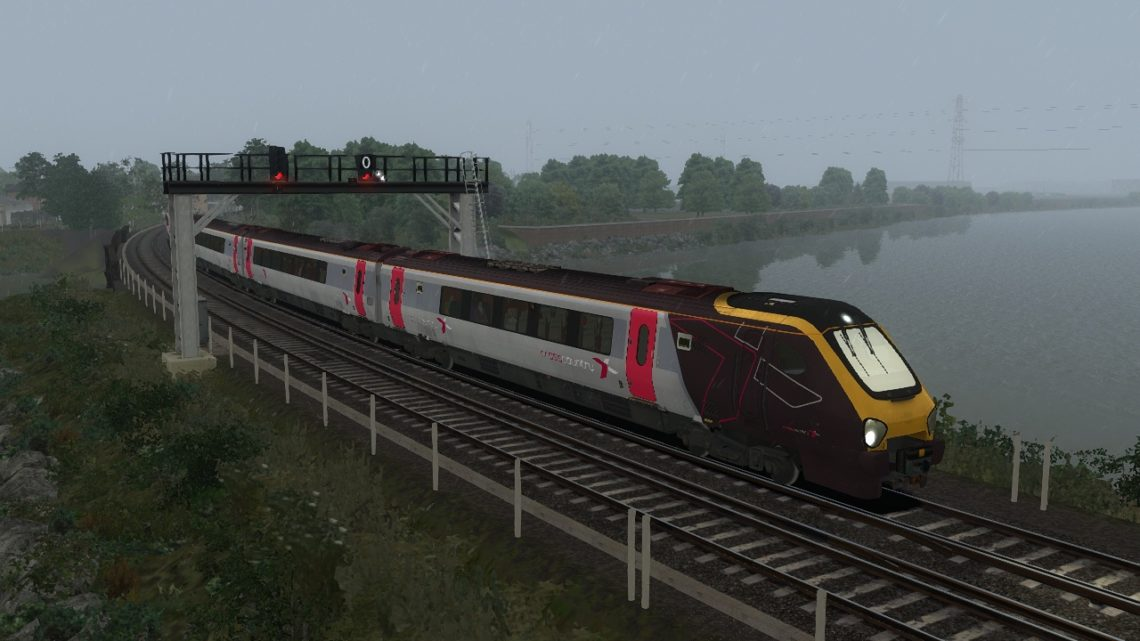1O18 Manchester Piccadilly-Bournemouth (Southampton Central-Bournemouth)